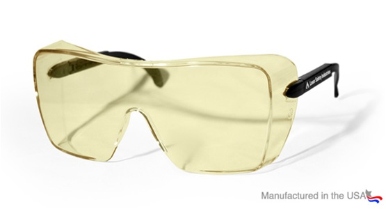 07f2ad7a2530 100-10-105 Excimer laser fit-over prescription laser safety glasses are a  comfortable frame with ...